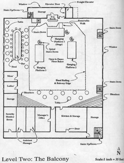 Dance Club Floor Plans